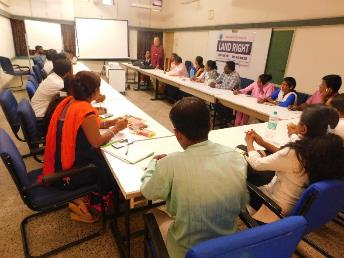 2 days Training of Trainers (TOT) for the land advocacy activists  of five districts of Western Maharashtra