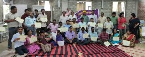 National level Training on leadership building on Land advocacy