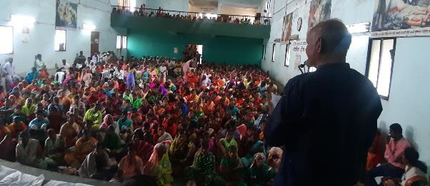 Parishad on Shetmajur at Kolhapur on Land, House, and Budget