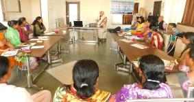 """International women's  Day – Campaign on """"Gharche Kam Sarvanche"""" on the occasion of"""